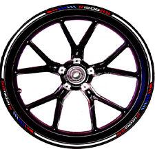 Adesivi ruote moto per R1200 GS da 17 e 19 pollici BMW Motorsport