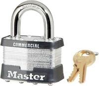 2 Master No.5 Padlock Replacement Keys Code Cut  A2001 to A2050 Lock Key #5