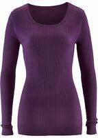 Damen Pullover Sweatshirt Shirt Pulli Top Sweater Slim Fit Gr. 36 / 38 NEU