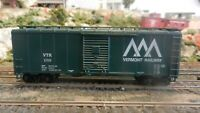 Athearn BB 40' Boxcar, Vermont Railway, Upgraded, Exc
