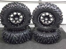 "25"" QUADKING ATV TIRE & STI HD4 WHEEL KIT LIFETIME WARRANTY  POL3CA BIGGHORN"