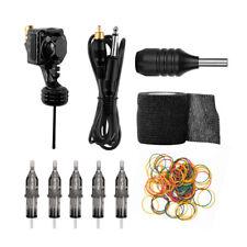 Powerful Rotary Tattoo Pen Machine Gun Kit Liner Shader Grip w/ Needles Tattoo