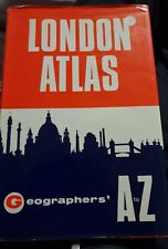 London Atlas Geographers A To Z 1960s 7th Edition