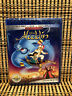 Aladdin (2-Disc Blu-ray/DVD,2019)Disney Animated Classic.Robin Williams.Original