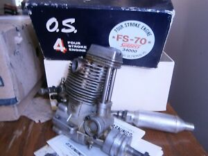 OS Max 70 FS R/C Model Airplane Engine   for parts?