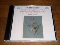 Schubert - Complete String Quartets, Vol. 5 - Kodaly Quartet (CD)