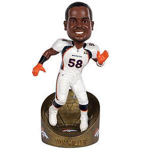 Von Miller Denver Broncos Champions Series MVP - Super Bowl 50 Bobblehead NFL