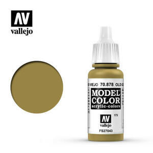 Vallejo Model Color 878 - Old Gold (70.878) 17ml