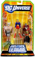 DC Universe Justice League Unlimited Warlord, Supergirl & Deimos Action Figures