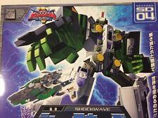 Transformers Super Link Sd 04 Shockwave Takara 2004