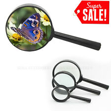 Handheld Magnifier Magnifying Glass Loupe Reading Jewelry Three Size Available