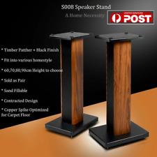 More details for home theatre/bookshelf/hi fi satellite speaker stands 60cm height s008