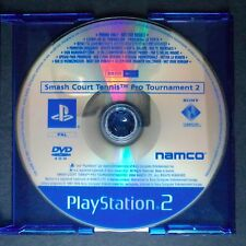 promo SMASH COURT TENNIS PRO 2  PlayStation 2 UK PAL・♔・pre-release full game PS2