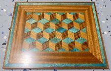 Real*Wood-bark Checker-chess Pattern Natural Mouse pad Gaming Mousepad NEW*