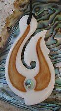 Maori Fishhook  Bone Carving  Hei Matau  Neuseeland