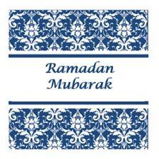 35 Ramadan Mubarak Stickers Muslim Islam Blue 636 Decorations Celebrations