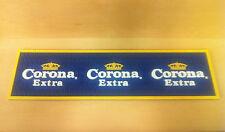 """Corona Extra Beer Bar Spill Mat - 23.5"""" x 6.5""""  ~ NEW & F/Shipn.* Little Bottles"""