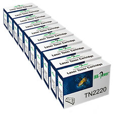 10 TN-2220 Toner Cartridge for Brother HL-2250DN HL-2270DW HL-2240 HL-2240D