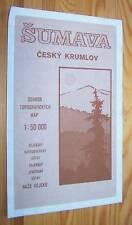 CESKY KRUMLOV (Böhmisch Krumau) # Tschechien # Topographische Karte 1:50.000