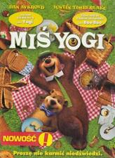 MIS YOGI, YOGI BEAR Polish English Icelandic German SEALED Reg 2 dvd dla dzieci