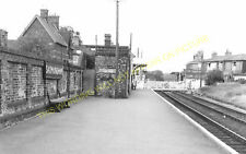 Saxmundham Railway Station Photo. Wickham Market to Darsham and Aldeburgh. (25)