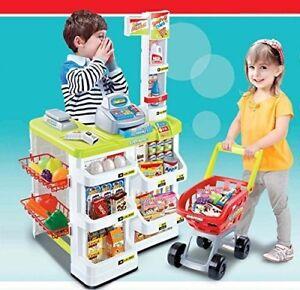 Kids Role Play Supermarket Set Superstore Shop Toys Children Supermarket XMAS