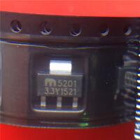 10 Piece    MIC5201-3.3YS DC/DC converter LDO  NEW