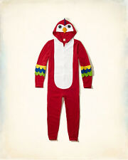 Hollister Mens Hooded Parrot All In One Jumpsuit Size S/M BNWT RRP £49