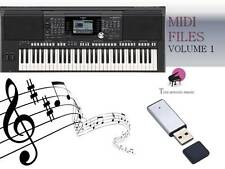 MIDI File Karaoke USB stick for PSR S950 S970 Vol 1