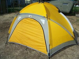 The North Face VE24 VE 24 Tent ~ Expedition Geodesic Dome ~ Yellow ~Nice!