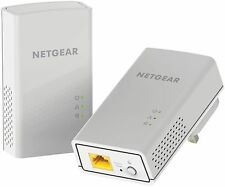 NETGEAR PL1000-100UKS PL1000 Powerline 1000 Mbps 1 Gigabit Ethernet Por... - NEW
