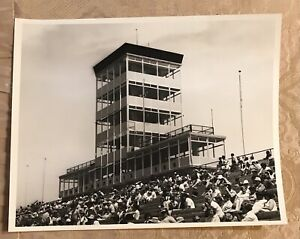 Vintage Original Indianapolis Motor Speedway Black And White Photograph #PW170