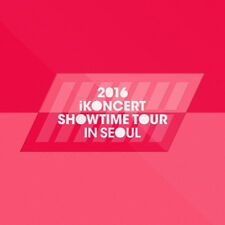 IKON-2016 IKONCERT SHOWTIME TOUR IN SEOUL LIVE Album 2CD+POSTER+Photo Book+etc