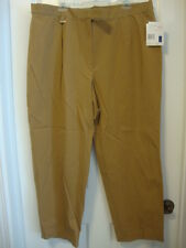 NWT Women's LIZ CLAIBORNE camel english country pants, 22P  22