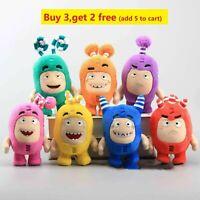 7'' Oddbods 7 Colors Newt Bubbles Pogo Zee Jeff Fuse Slick Plush Toy Kid Gift