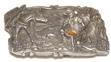 Siskiyou Arroyo Grande Prospect 3D Belt Buckle Miner Panning For Gold 1981 Mine