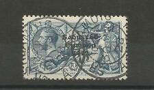 IRELAND Stunning beautiful cancel 1927-28 10s Seahorse 79b SG88 Very Fine Used