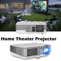 7000:1 HD Heimkino Beamer Videpspiel Fußballspiel LED Projektor HDMI USB 1080P