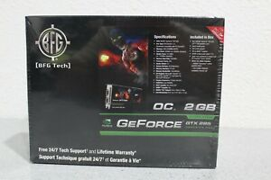 BRAND NEW! SEALED! BFG Tech nVidia GeForce GTX 285 OC 2GB GDDR3 2048mb PCI Ex