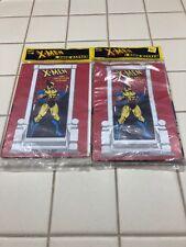 """1993 X-Men Adventure Marvel Door Banner Poster 27x60"""" New Old Stock Set of 2"""