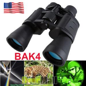 100X180 Binoculars with Night Vision Auto Focus BAK4 High Power Waterproof+ Case