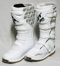 JT Racing USA Podium MX Motocross Enduro Quad Stiefel Boots weiss Gr. 46