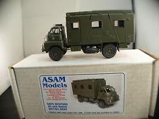 ASAM MODELS SM74 BEDFORD RS 4x4 Radio army de l'armée britannique neuf mint MIB