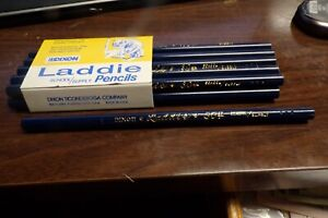 One Dozen 12 Vintage Dixon #304 Laddie Thick Lead School / Supply Pencil NEW NOS