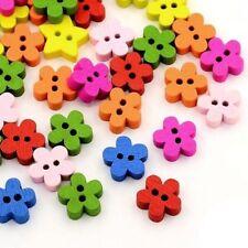 Bottoni per l' hobby del cucito legno fiore