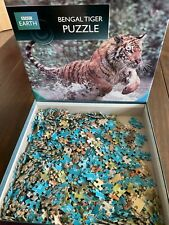 BBC Earth - Bengal Tiger - 500 Piece Jigsaw Puzzle - Top condition.