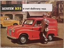 AUSTIN A35 6 CWT Delivery Van Brochure c1958 #1140I