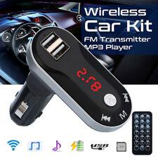 Inalámbrica Bluetooth FM transmisor MP3 jugador manos libres Car Kit USB TF SD