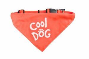 Karlie Hunde Bandana Cool Dog Halstuch mit Halsband orange