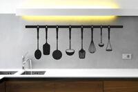 Kitchen Instruments Wall Stickers Vinyl Art Decals